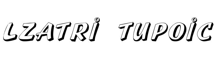 Lazuri  UTOPIC Шрифта