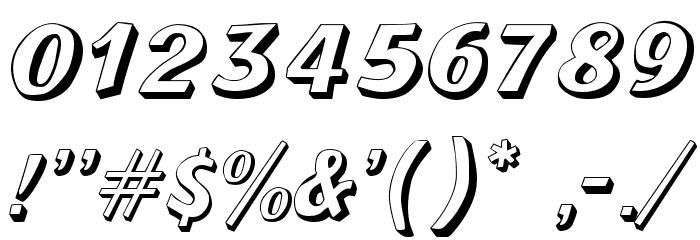 Lazuri  UTOPIC Шрифта ДРУГИЕ символов