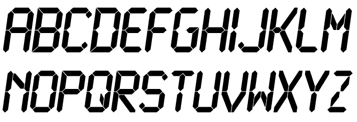 LCD Bold Polices MINUSCULES