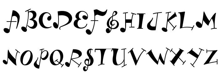 ld font fonts uppercase musica typewriter