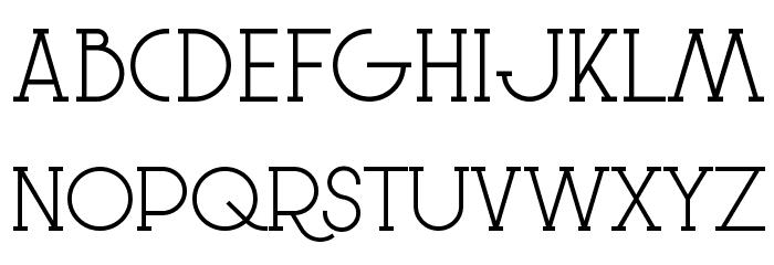 Le Super Serif フォント 大文字