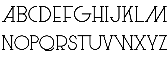 Le Super Serif フォント 小文字