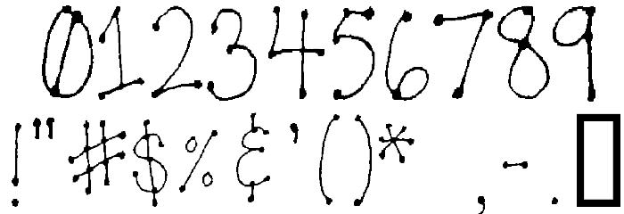 LeDot Font OTHER CHARS