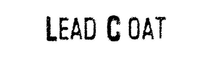 Lead Coat  Free Fonts Download