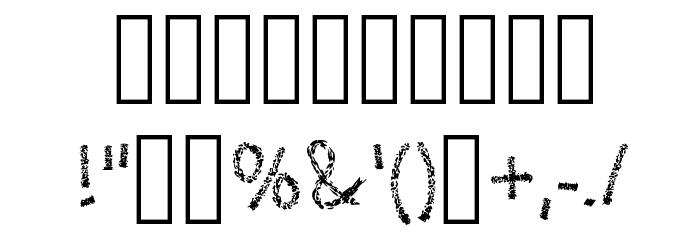 Leather Font Regular Fuentes OTROS CHARS