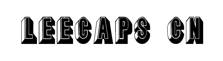 LeeCaps Cn  Free Fonts Download