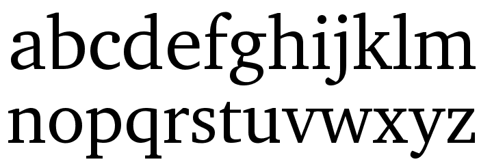 LeedsBit EuroNorth Normal Font LOWERCASE