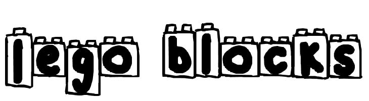 Lego Blocks Font