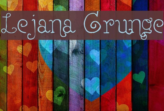 Lejana Grunge Fuentes examples