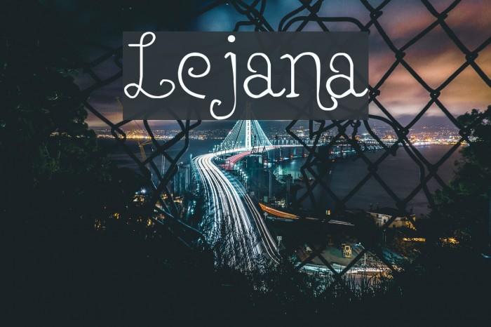 Lejana Fuentes examples