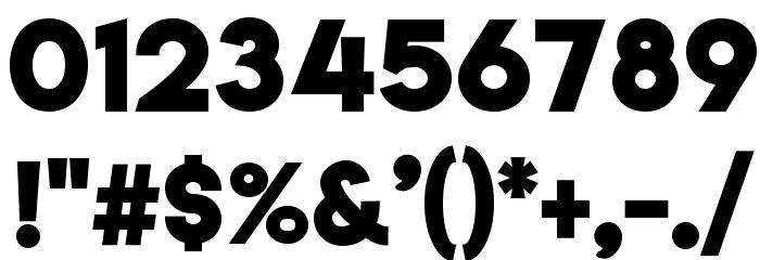 Lemon/Milk bold Font OTHER CHARS