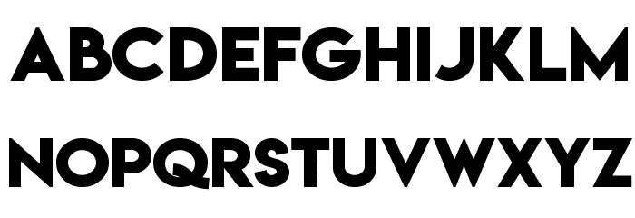 Lemon/Milk bold Font UPPERCASE