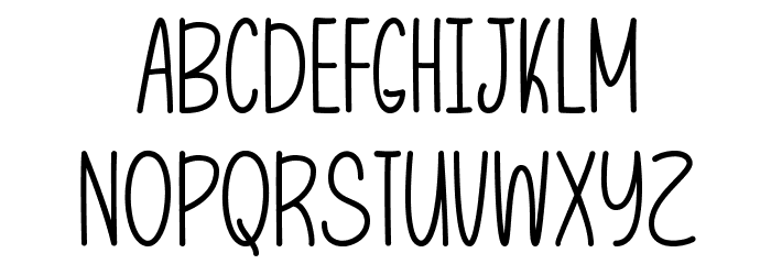 LetThatBeEnough Font Litere mari