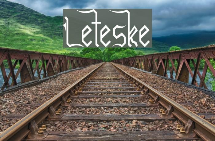 Leteske Polices examples