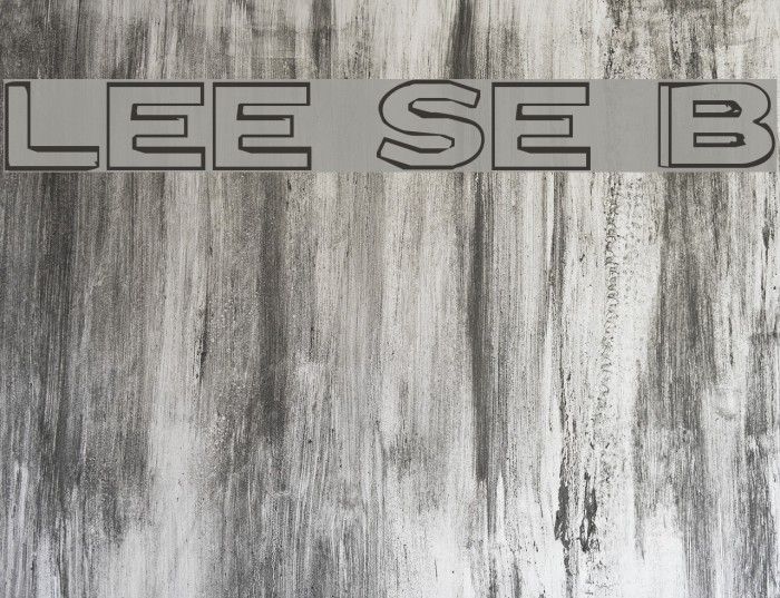 Letter Set B Font examples