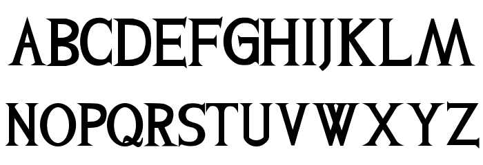 Levi-Strauss Font UPPERCASE