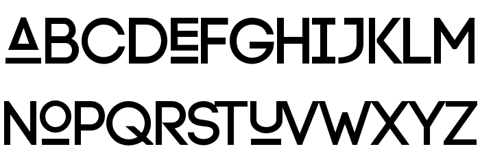 Lexlox Schriftart Kleinbuchstaben
