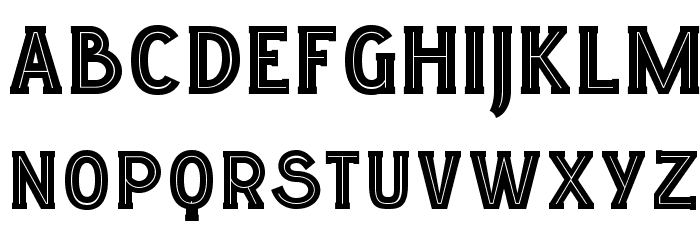 LGFELUCIDARTITULARES-Regular Font UPPERCASE