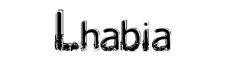 Lhabia  Free Fonts Download