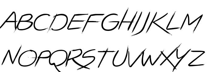 LIGHTSTRIKE フォント 小文字