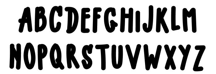 LITTLE MALLE Font LOWERCASE