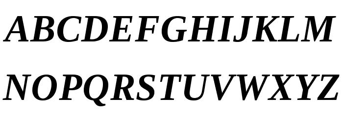 LibraSerifModern-BoldItalic Fuentes MAYÚSCULAS
