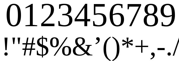 LibraSerifModern-Regular Fuentes OTROS CHARS