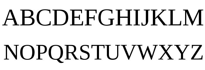 LibraSerifModern-Regular Fuentes MAYÚSCULAS