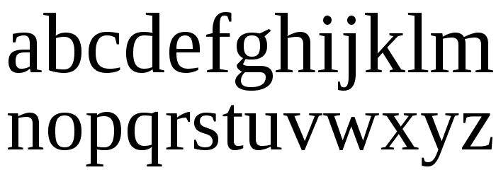 LibraSerifModern-Regular Fuentes MINÚSCULAS