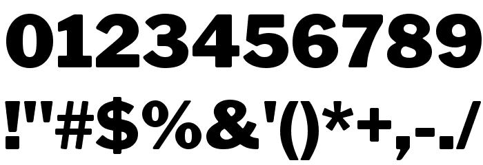 LibreFranklin-Black Font OTHER CHARS
