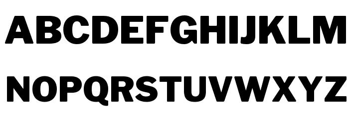 LibreFranklin-Black Font UPPERCASE