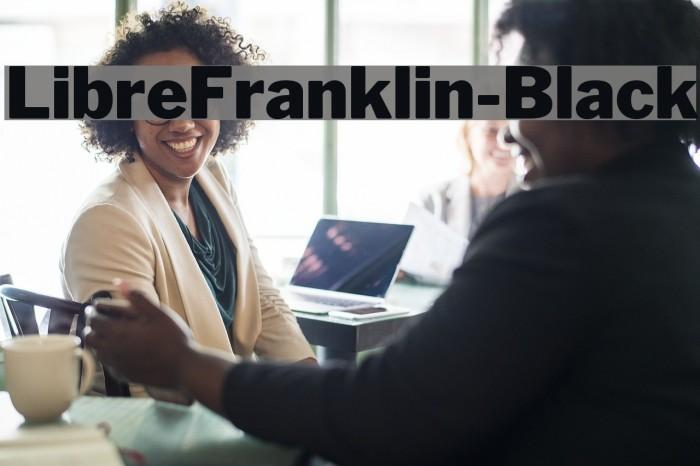 LibreFranklin-Black Font examples