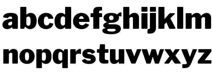 LibreFranklin-Black Font LOWERCASE