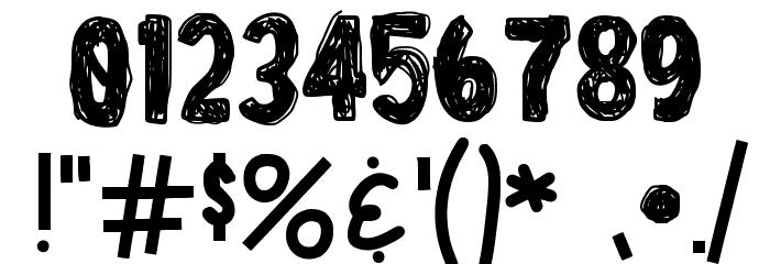 LicensePl8 Font OTHER CHARS