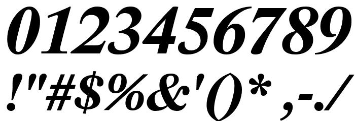 Lido STF CE Bold Italic Fonte OUTROS PERSONAGENS
