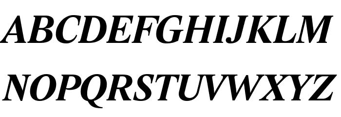 Lido STF CE Bold Italic Fonte MAIÚSCULAS