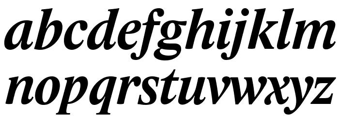 Lido STF CE Bold Italic Fonte MINÚSCULAS