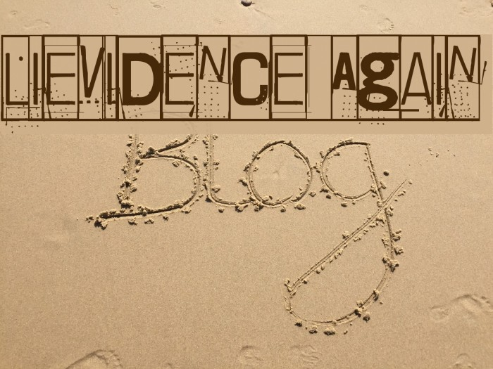 Lievidence Again Шрифта examples