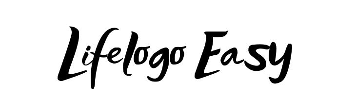 Lifelogo Easy  Free Fonts Download