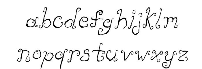 Like Cockatoos Italic Fonte MINÚSCULAS