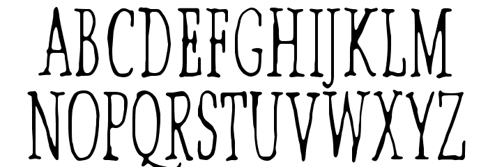 Lilith X Font UPPERCASE
