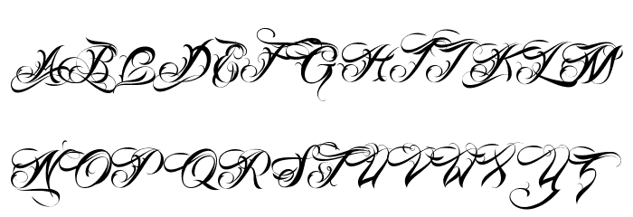Gothic And Old English Fonts - Old English Script Font Old