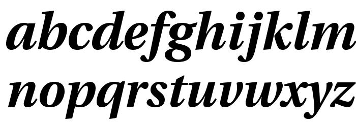 LinguisticsPro-BoldItalic Fuentes MINÚSCULAS
