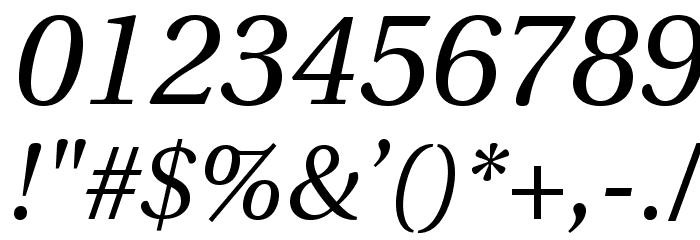LinguisticsPro-Italic Fuentes OTROS CHARS
