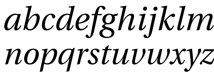 LinguisticsPro-Italic Fuentes MINÚSCULAS