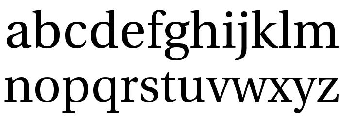 LinguisticsPro-Regular Fuentes MINÚSCULAS