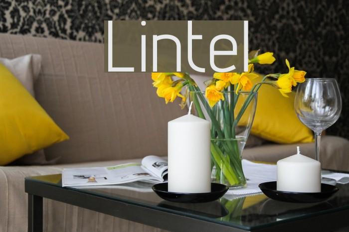 Lintel Font examples