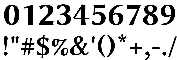 Linux Biolinum Capitals Bold フォント その他の文字