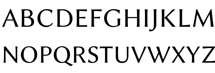 Linux Biolinum Font UPPERCASE