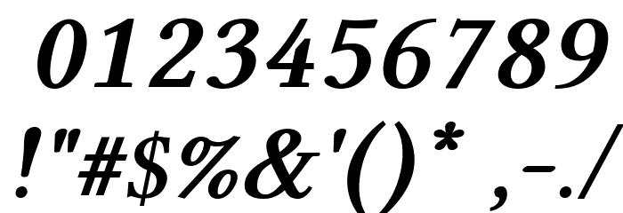 Linux Libertine Bold Italic Caratteri ALTRI CARATTERI